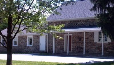 Old Haverford Friends Meetinghouse - Front image. Click for full size.