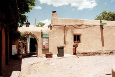 Don Fernando de Taos Plaza Cantina image. Click for full size.
