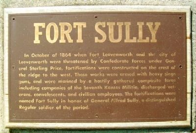 Fort Sully Marker image. Click for full size.