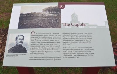 The Cupola Marker image. Click for full size.