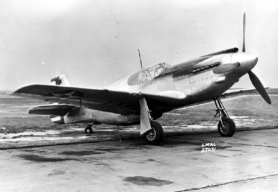 P-51in World War II, as mentioned image. Click for full size.