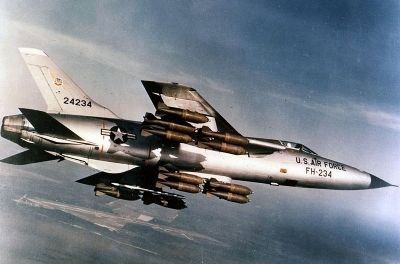 F-105 Thunderchief until 1967 as mentioned image. Click for full size.