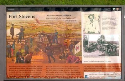 Fort Stevens Marker image. Click for full size.