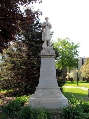 Coldwater War Memorial image. Click for full size.