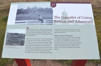 The Gauntlet of Union Retreat and Aftermath Marker image. Click for full size.