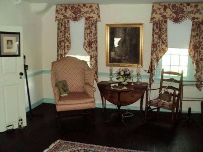 Parlor of Campfield House image. Click for full size.