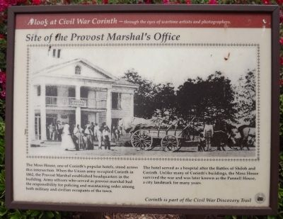 Site of the Provost Marshal's Office Marker image. Click for full size.