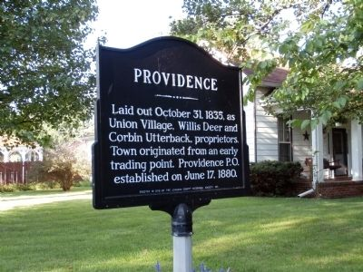 Providence Marker image. Click for full size.
