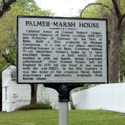 Palmer - Marsh House Marker image. Click for full size.