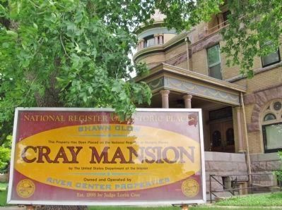 Cray Mansion Sign image. Click for full size.