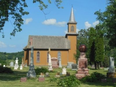 Bear Valley Cemetery and Brown Church image. Click for full size.