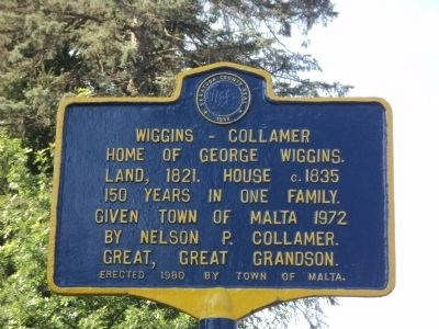 Wiggins – Collamer Marker image. Click for full size.