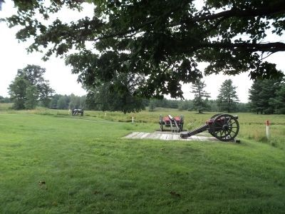 Balcarres Redoubt Artillery image. Click for full size.