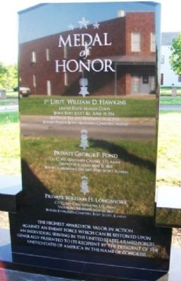 Medal of Honor Marker (Side A) image. Click for full size.