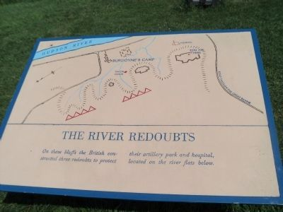 The River Redoubts Marker image. Click for full size.