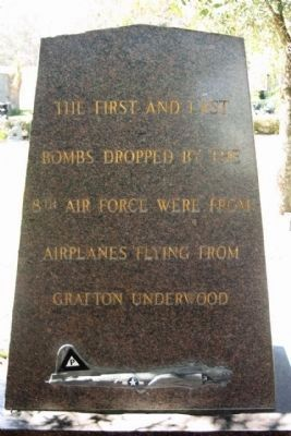 384th Bombardment Group Marker east face image. Click for full size.