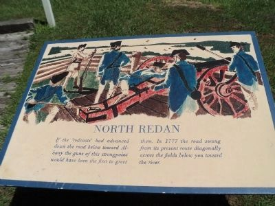 North Redan Marker image. Click for full size.