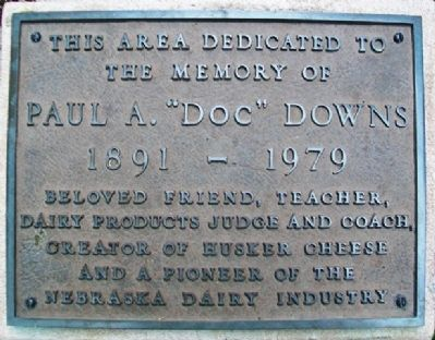 "Paul A. ""Doc"" Downs Marker image. Click for full size."