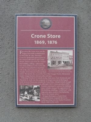 Crone Store Marker image. Click for full size.