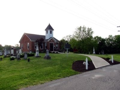 Old Franklin United Brethren Church image. Click for full size.