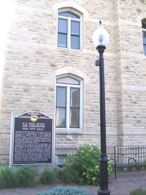 U.S. Post Office and Courthouse (Old City Hall) Marker