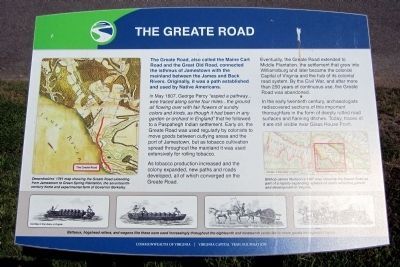 The Greate Road Marker image. Click for full size.