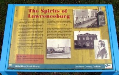 The Spirits of Lawrenceburg Marker image. Click for full size.