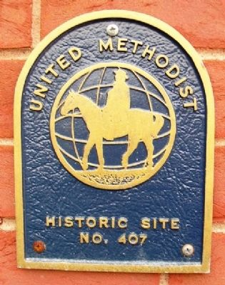 United Methodist Historic Site Marker image. Click for full size.
