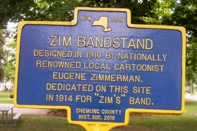 Zim Bandstand Marker image. Click for full size.
