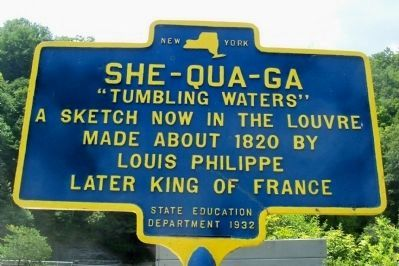 She-Qua-Ga Marker image. Click for full size.