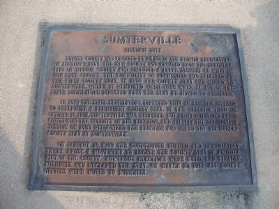 Sumterville Marker image. Click for full size.