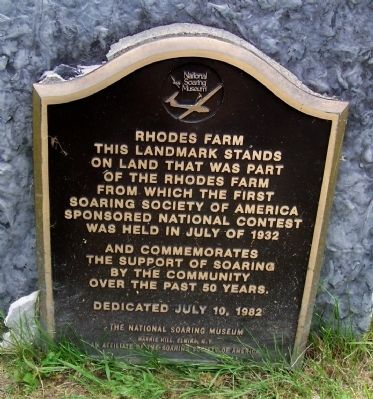 Rhodes Farm Marker image. Click for full size.