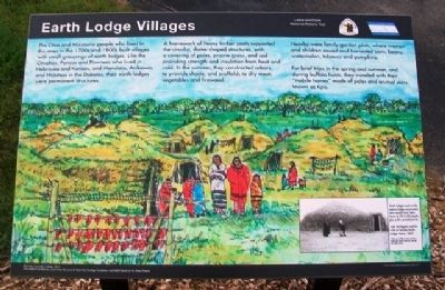 Earth Lodge Villages Marker image. Click for full size.