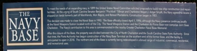 The Navy Base Marker image. Click for full size.