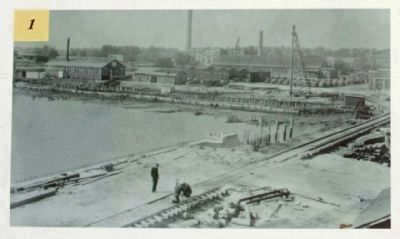 The Navy Base Charleston Navy Yard Historic District Photo image. Click for full size.