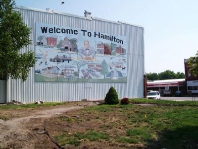 Welcome to Hamilton Mural at J.C. Penney Park image. Click for full size.
