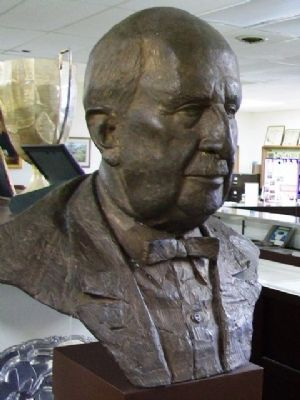 Bust of J. C. Penney in Memorial Library-Museum image. Click for full size.