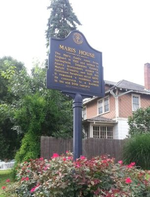 Maris House Marker image. Click for full size.