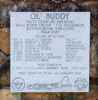 Ol' Buddy Marker image. Click for full size.