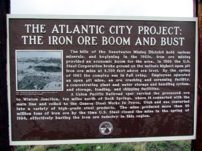 The Atlantic City Project Marker image. Click for full size.