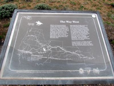 The Way West Marker image. Click for full size.