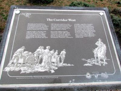 The Corridor West Marker image. Click for full size.
