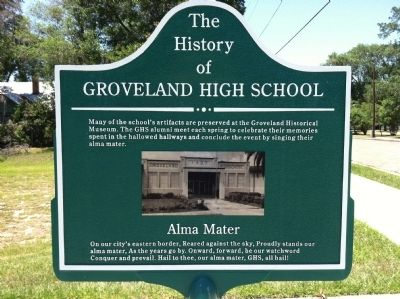 The History of Groveland High School Marker Side 2 image. Click for full size.