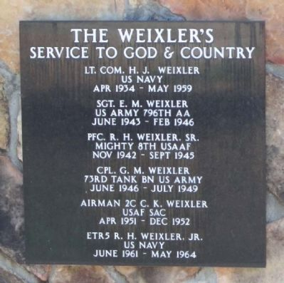 The Weixler's Marker image. Click for full size.