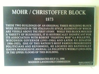Mohr / Christoffer Block Marker image. Click for full size.