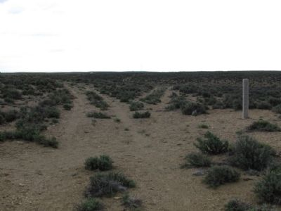 Trail Marker for the Oregon Trail image. Click for full size.