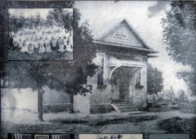 Montrose Schoolhouse image. Click for full size.