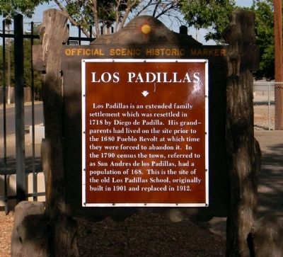 Los Padillas Marker image. Click for full size.