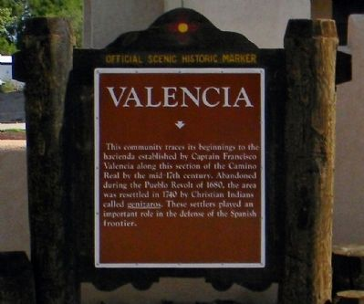 Valencia Marker image. Click for full size.