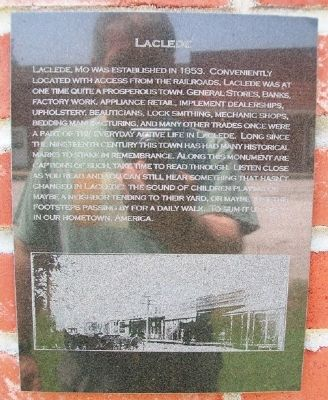 Laclede Marker image. Click for full size.